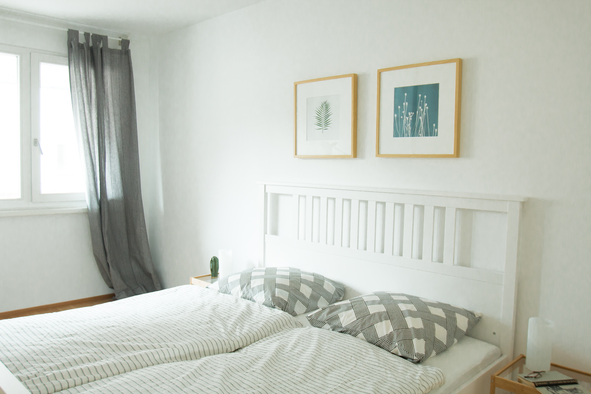 Schlafzimmer, gemütlich, Bilder, Bettwäsche